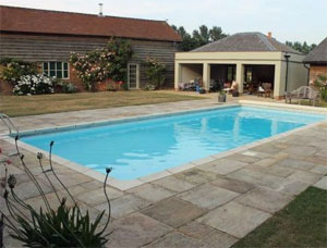 Suffolk swimming pool cottages