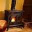 log cabins to rent with a woodburner